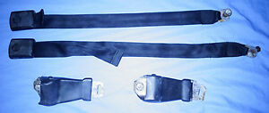1961 1962 1963 Ford T bird Seat Belts 61 62 63 Black