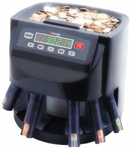 Coin Counter Machine Digital Automatic Sorter Roller Wrapper Business Shops Bank