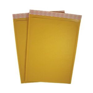 10 5 X 15 5 Kraft Bubble Mailers Self Seal Padded Shipping Envelope 10 Pack