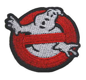 GHOSTBUSTERS NO GHOST MURRAY HALLOWEEN COSTUME RED OPS WHITE PATCH BADGE $6.99