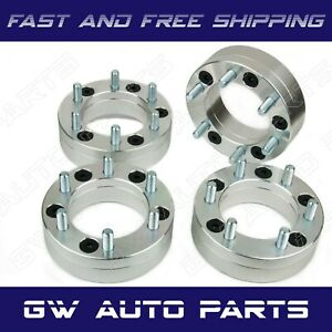 4pcs Wheel Adapters 5x135 To 6x135 2 Thick M14x2 0 Fit Ford F150