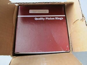 Sealed Power Piston Ring Set Fit Ford Tractor 401 6 6l 7180std