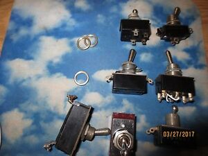 7 Vintage Ah h Arrow hart Hegeman Laminate Toggle Switch 3 12 Amp 250 V G7