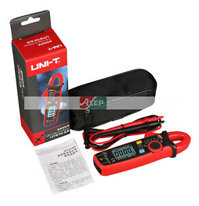 Uni t Ut210e Digital Clamp Meter Multimeter Handheld Rms Ac dc Mini Resistanc