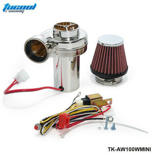 Jjjturbo Mini Electric Supercharger Kit Air Filter Intake For All Car Motorcycle