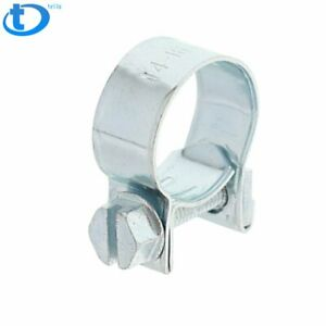 New 10pcs 3 8 Fuel Injection Hose Clamp Auto Fuel Clamps