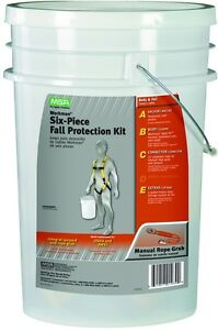 Safety Durable Standard Works Fall Protection Bucket Kit Fp Fall Harness