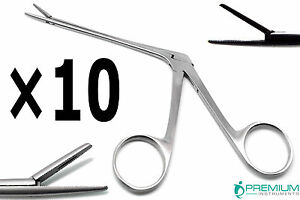 10 Pcs Hartman Alligator Forceps 3 3 Ent Surgical Instruments