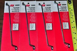 Brake Bleeder Wrench 7 9 8 10mm 1 3 8 5 16 3 8 4 Pcs Double Box Offset Wr