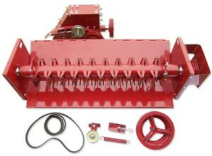 Straw Chopper Assembly With Drive For Case Ih 1460 1660 1666 2166 2366 Combine