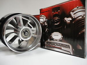 Universal Cold Air 3 Inch Intake Turbo Fan Fuel Saver Performance Supercharger