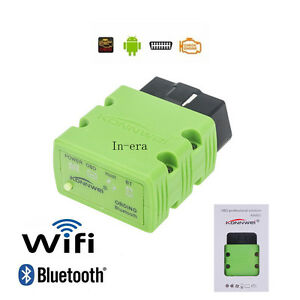 Elm327 Wifi Bluetooth Obd2 Obdii Auto Car Diagnostic Scanner For Iphone Android