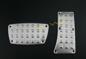 Universal Steet Racing Brake Gas Pedal Pad Automatic Kit Civic S2000 Type R