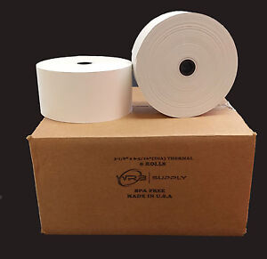 3 1 8 X 815 Thermal Paper 8 Roll For Tranax cross Mini bank Series 3000
