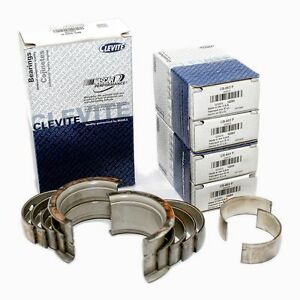 Chevy Ls1 5 7l Clevite Race Main Rod Bearings Set H series Std Size