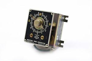 Industrial Timer Company Sf 6s Motor Timer