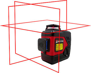 Beiter Tech Bart 3d Red Laser Level Tri plane Red Line Laser Level
