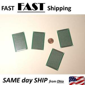 Pcb Double Sided Blank Circuit Board 4 Pack