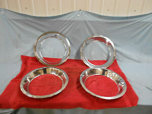 1967 68 Corvette Trim Rings Original