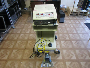Conmed Sabre 2400 Electrosurgical Unit With Monopolar Bipolar Footswitch