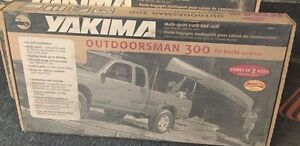 New 1136 Yakima Outdoorsman 300 Multi Sport Truck Bed Rack