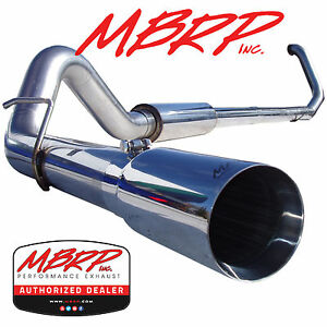 Mbrp S6200304 4 Turbo Back Diesel Exhaust 99 03 Ford F250 F350 7 3l Powerstoke