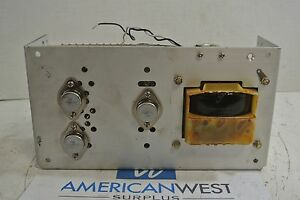 Sola General Signal Regulated Power Supply Sld 12 3434 12t 12vdc 3 4a Used