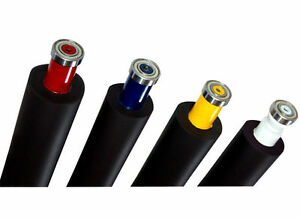 Ink Rubber Rollers For Heidelberg Sord Set Of 10 Conventional Offset Printing