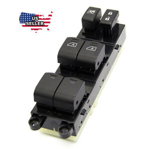 New Master Power Window Switch For 2007 2012 Nissan Pathfinder 25401 Zl10a