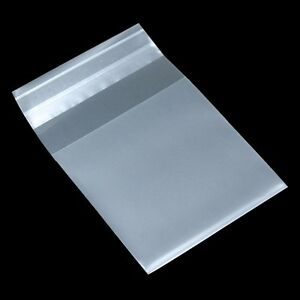 Matte Clear Self Adhesive Plastic Packaging Bag For Candy Biscuit Cookies Pack