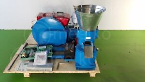 Combo Pellet Mill 22hp And Hammer Mill 22hp For Wood Usa Stock Fast Shiping