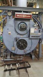 Cleaver Brooks Cb700 300 Natural Gas Boiler