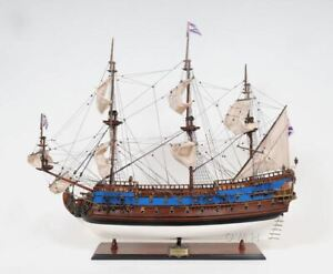 Russian Navy Goto Predestination Tall Ship 22 Wood Model Sailboat Assembled