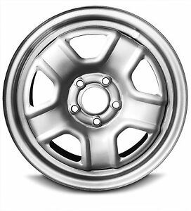 New 07 08 09 10 11 12 14 Jeep Patriot 16 Inch 5 Lug Silver Steel Wheel Rim Waa