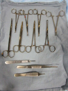 Perma cath Medical Instrumentation Set
