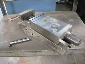 Rohm Mechanical Hydraulic 6 X 9 Large Milling Vise Made In Germany