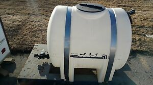 Geothermal Directional Drilling Grout 350 Gallon Poly Tank With Metal Pump Base