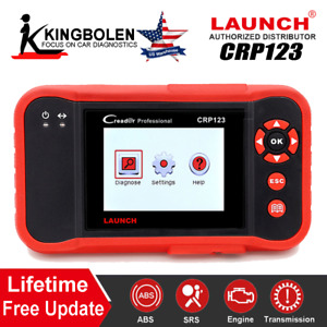 Launch X431 Crp123 Creader 7 Obdii eobd Car Diagnostic Scanner Auto Code Reader