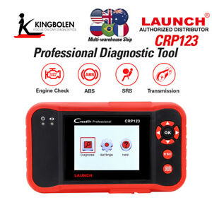 Launch Crp123 Creader Vii Code Reader Auto Diagnostic Tool Abs Srs Engine Check