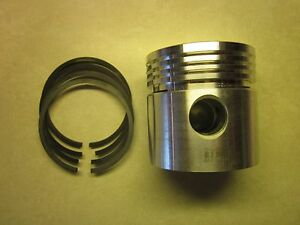 Case 350 500b 600b Tractor 164 Engine G2004 Piston And Ring Set