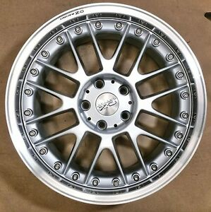 O Z Racing Nova New 18x10 5x120 Silver Single Wheel Bmw