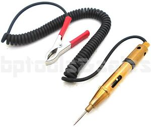 12 24v Electric Circuit Tester Test Light Car Vehicle Rv Truck Automobile Tester