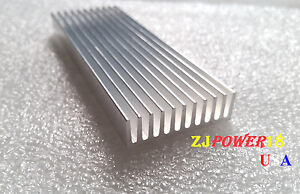 30pcs 100 35 10mm Silver Aluminum Heat Sink For Led And Power Ic Transistor