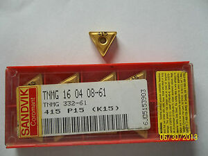 Sandvik Tnng Carbide Cnc Lathe Turning Insert