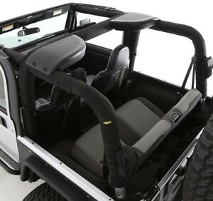 Smittybilt Molle Replacement Roll Bar Cover Kit For 2003 2006 Jeep Wrangler Tj