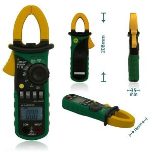 Digital Clamp Meters Auto Range Clamp Meter Ammeter Voltmeter