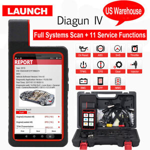 Launch X431 Diagun Iv Full Set Obd2 Auto Full System Diagnostic Tool Code Reader
