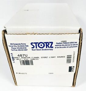 Storz 487u Turret Adaptor Storz Light Source
