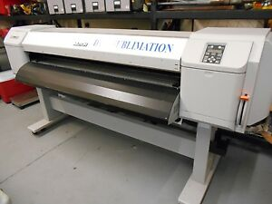 Used Mutoh Valuejet 1624wx Wide Format Printer Dye Sublimation