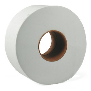 9 Large Roll Toilet Paper Tissue 2 ply Commercial Bathroom Office 12 Pack